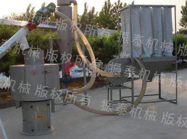 竹粉气流筛粉机产品图