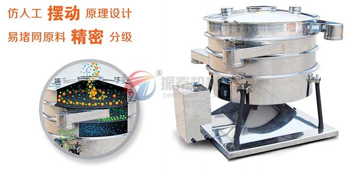 PVC树脂粉摇摆筛工作原理